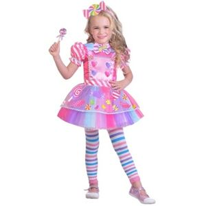 Halloween kids costume - Candy Girl - 2T